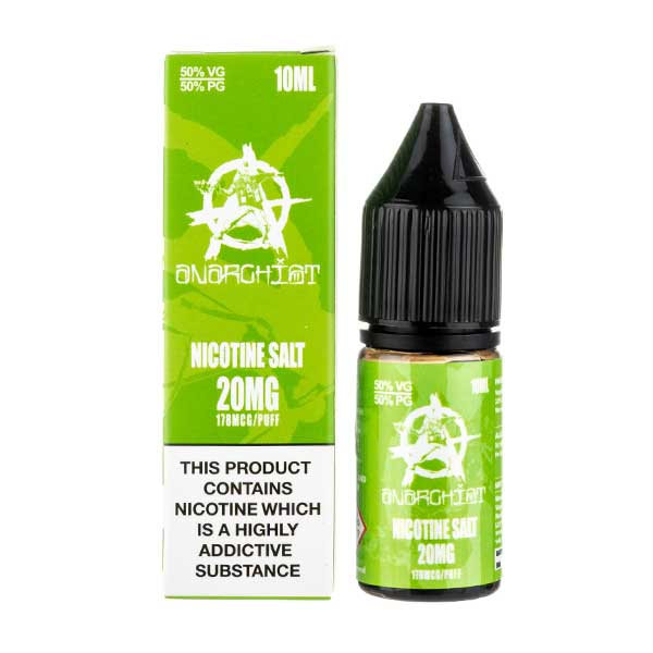 Green Nic Salt E-Liquid by Anarchist