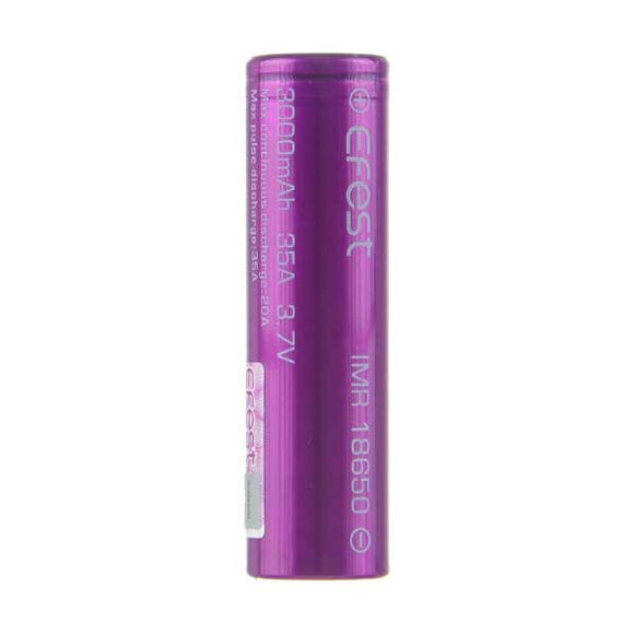 IMR 18650 3000mAh 35A Battery by Efest