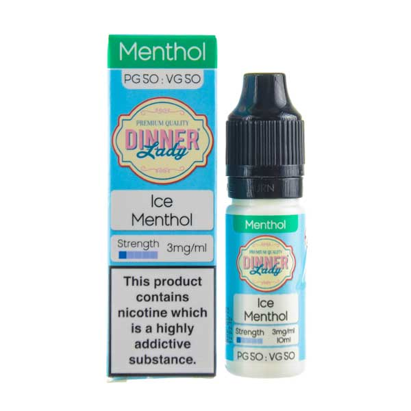 Ice Menthol E-Liquid by Dinner Lady