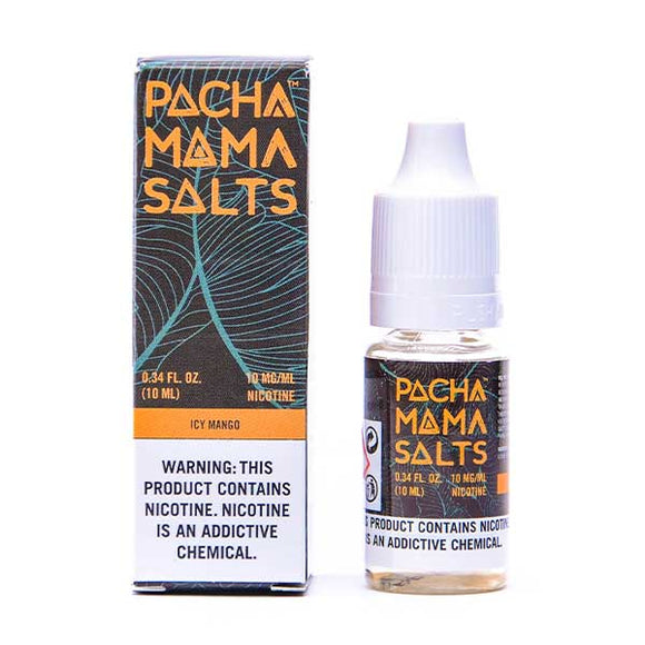 Icy Mango Nic Salt E-Liquid by Pacha Mama