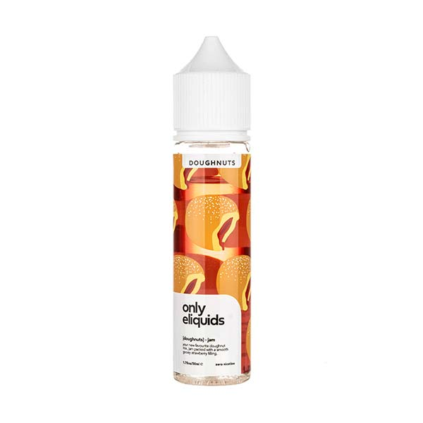 Jam Doughnut Shortfill E-Liquid by Only eLiquids