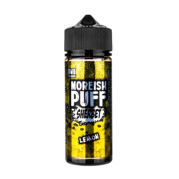 Lemon Sherbet Shortfill E-Liquid by Moreish Puff