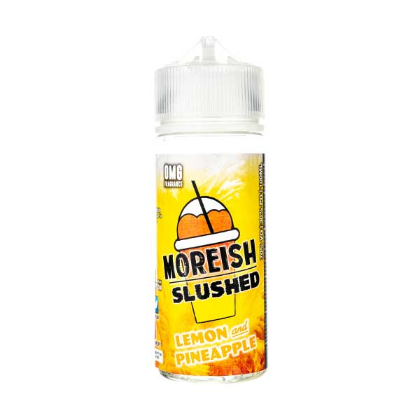 Lemon & Pineapple Slushed Shortfill E-Liquid by Moreish Puff