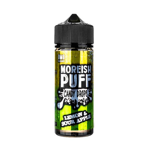 Lemon & Sour Apple Candy Drops Shortfill E-Liquid by Moreish Puff