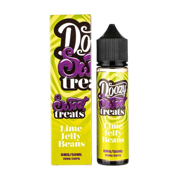 Lime Jelly Beans Shortfill E-Liquid by Doozy Vapes