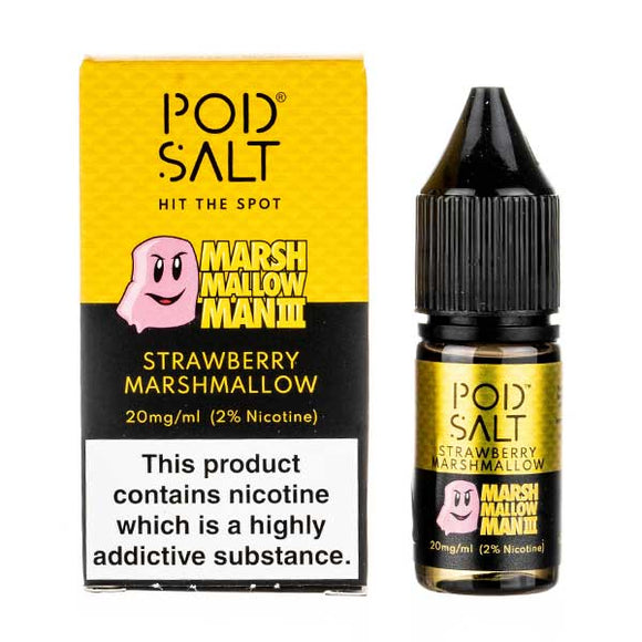 Marshmallow Man 3 Nic Salt E-Liquid by Pod Salt