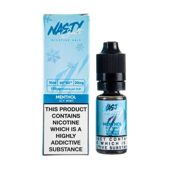 Menthol Nic Salt E-Liquid by Nasty Juice