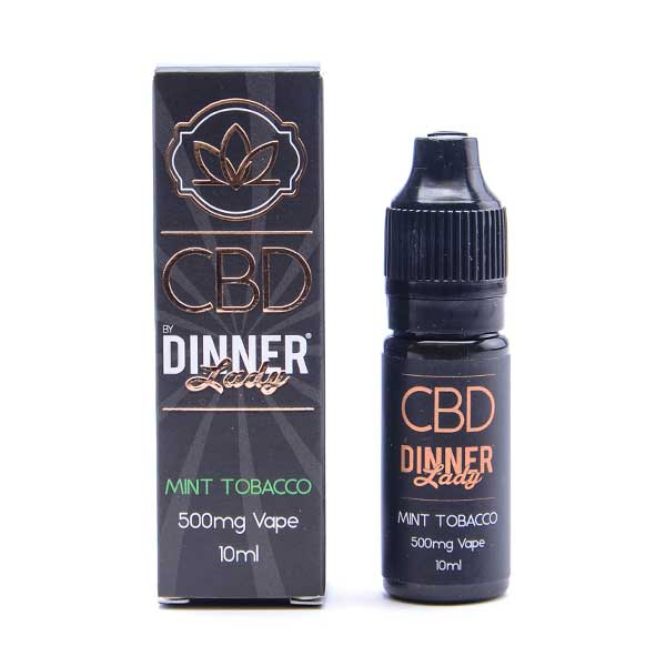 Mint Tobacco CBD E-Liquid by Dinner Lady