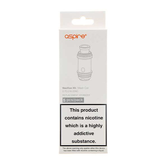 Nautilus X Coils - 5 Pack by Aspire