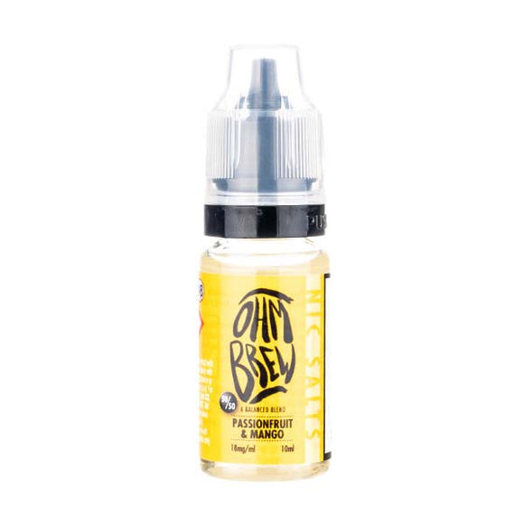 Passionfruit & Mango Nic Salt by Ohm Brew