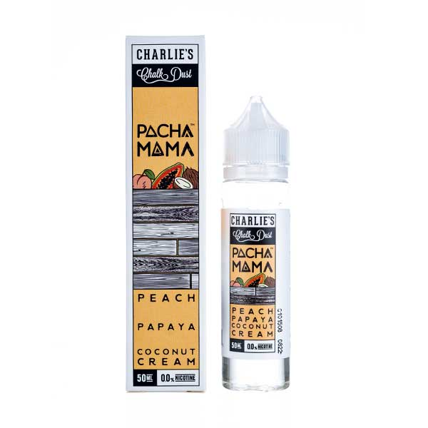 Peach, Papaya & Coconut Shortfill E-Liquid by Pacha Mama