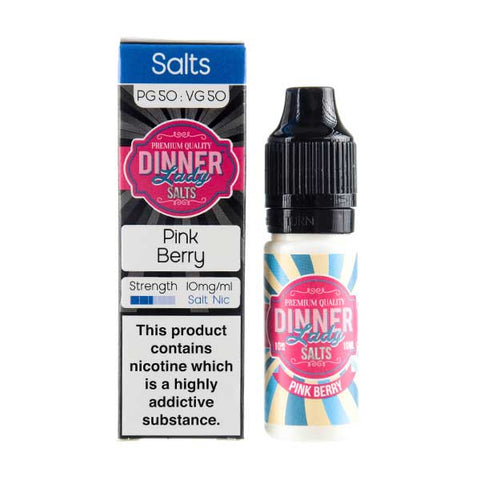 Pink Berry Nic Salt E-Liquid by Dinner Lady