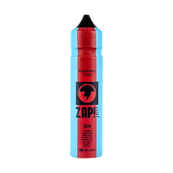 Raspberry Cola Shortfill E-Liquid by Zap! Juice