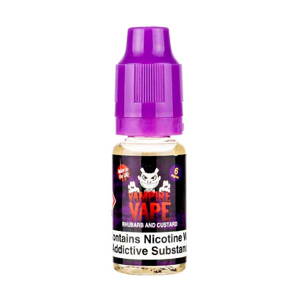 Rhubarb & Custard E-Liquid by Vampire Vape