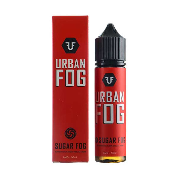 Sugar Fog Shortfill E-Liquid by Urban Fog