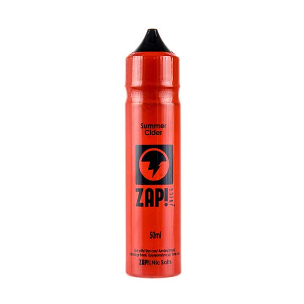 Summer Cider Shortfill E-Liquid by Zap! Juice