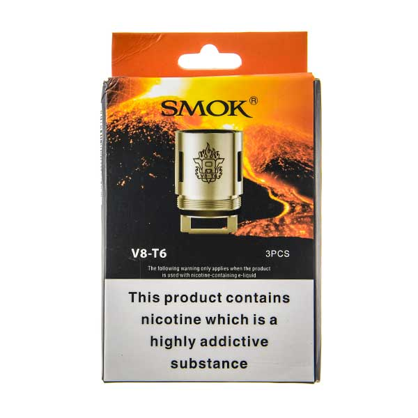TFV8-T6 Coils - 3 Pack by SMOK