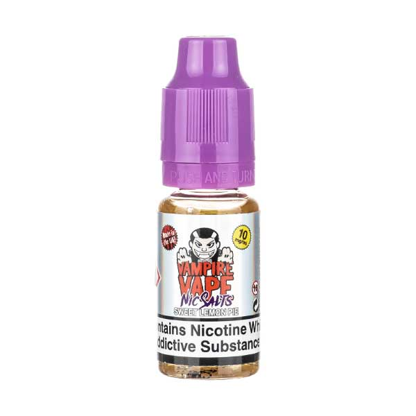 Sweet Lemon Pie Nic Salt E-Liquid by Vampire Vape