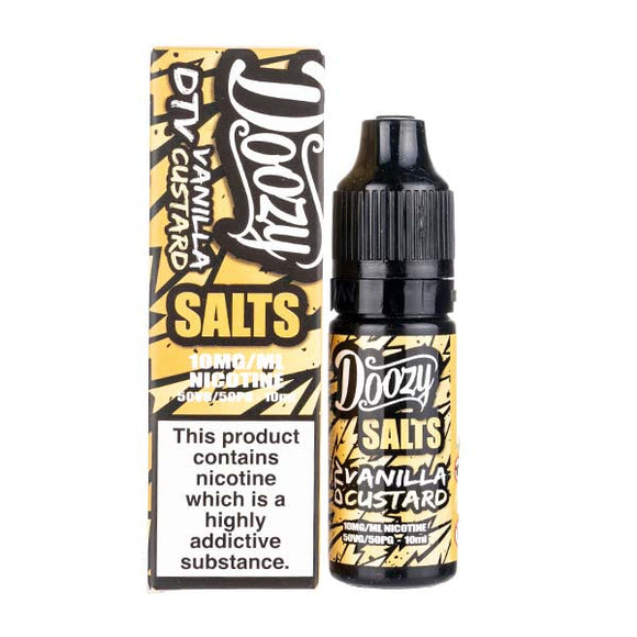 Vanilla Custard Nic Salt E-Liquid by Doozy