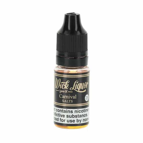 Carnival Nic Salt E-Liquid by Wick Liquor