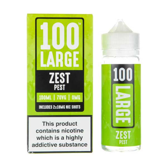 Zest Pest Shortfill E-Liquid by 100 Large