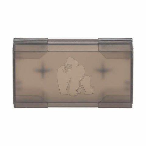 Chubby Gorilla Transparent Black Dual 18650 Battery Case