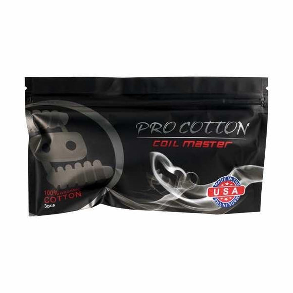 Coil Master Pro-Cotton Handmade Pack of 3