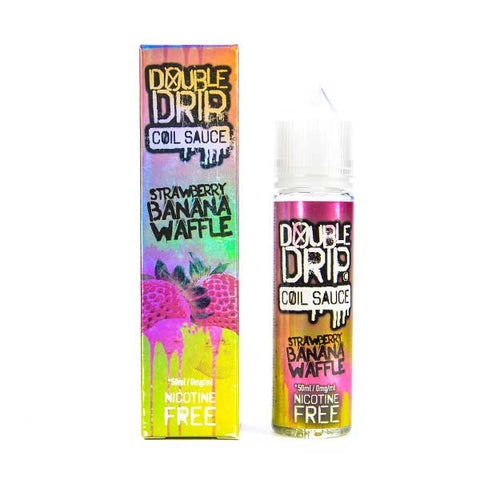 Strawberry Banana Waffle Shortfill E-Liquid by Double Drip