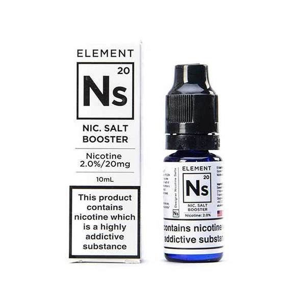 NS20 Nicotine Salt Nic Shot by Element