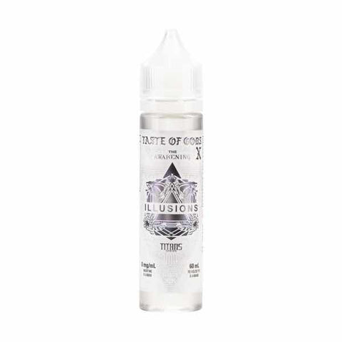Illusions Taste of Gods X 50ml Short Fill E-Liquid