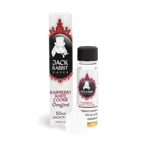 Jack Rabbit Raspberry White Cookie 50ml Shortfill E-Liquid
