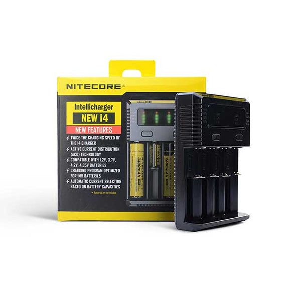 i4 Battery Charger by Nitecore