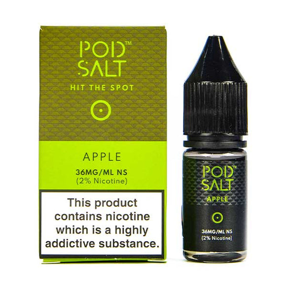 Apple Nic Salt E-Liquid by Pod Salt