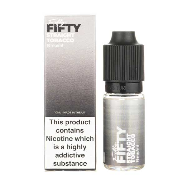 Straight Tobacco E-Liquid by VS Fifty 50