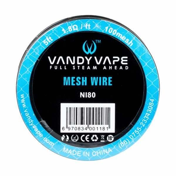 Mesh Wire Ni80 - 5ft by Vandy Vape