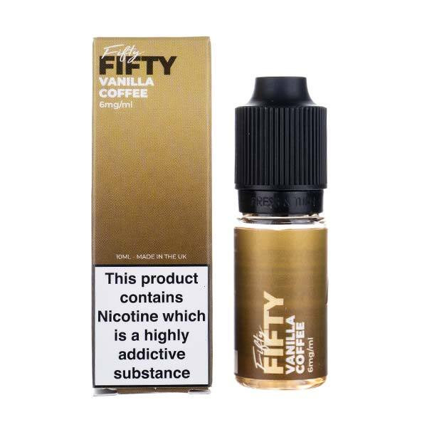 Vanilla Coffee E-Liquid by VS Fifty Fifty