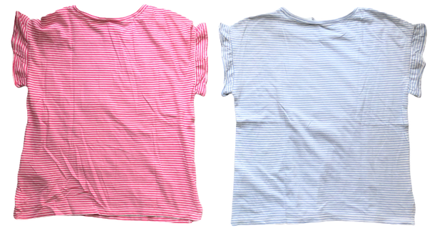 Set of 2 T-shirts with Sequins motif