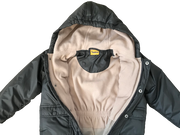 Hooded Snowsuit with Fleece Lining and Mittens