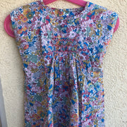 Smocked liberty dress