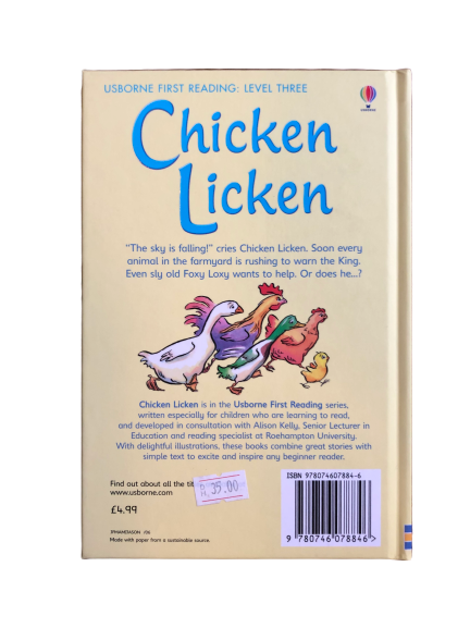Chicken Licken (First Reading - Level 3)