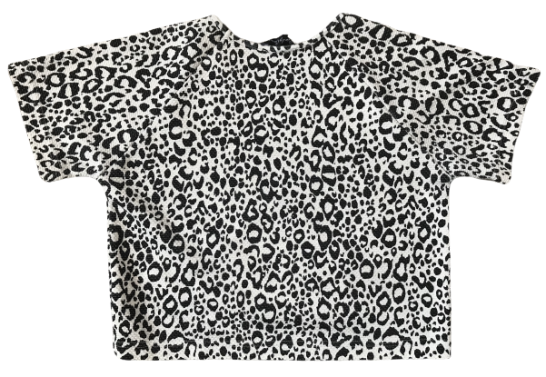 Leopard top with Strass