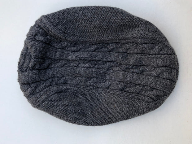 Knitted Flat cap