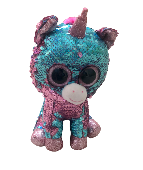 Celeste Unicorn Flippable Plush