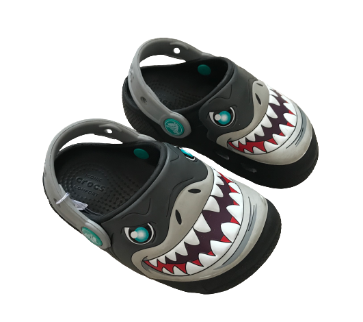 Shark Clogs with Lights