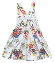 Flower Print Occasion Dress