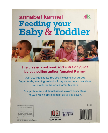 Feeding your Baby & Toddler, from first foods to family meals