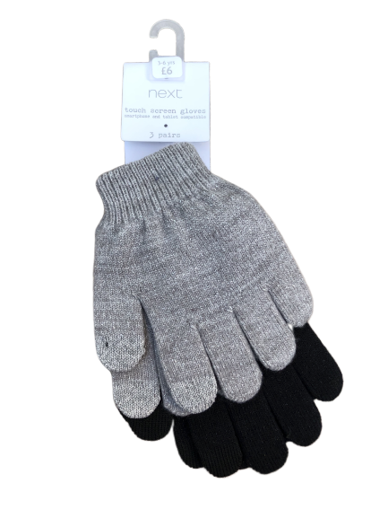 Set of 2 pairs of gloves - NEW