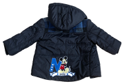 Winter Jacket With Fleece Lining / Mickey Mouse
