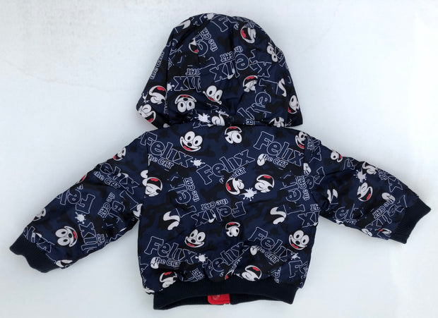 Reversible Puffer Jacket / Felix the Cat
