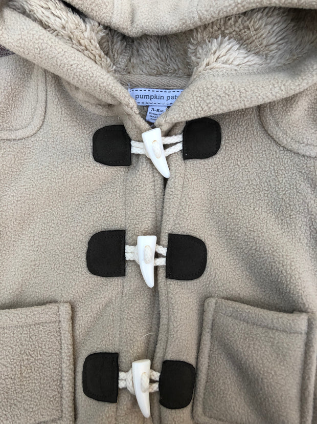 Fleece Duffle-Coat - NEW